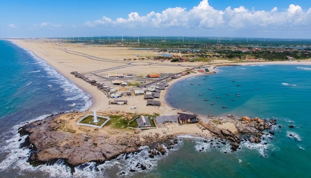 Praia da Pedra do Sal (Foto: divulgação / MTur)