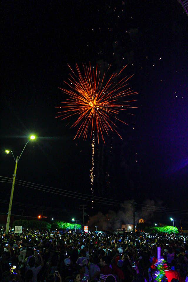 Município de Coronel José Dias comemora reveillon 2020