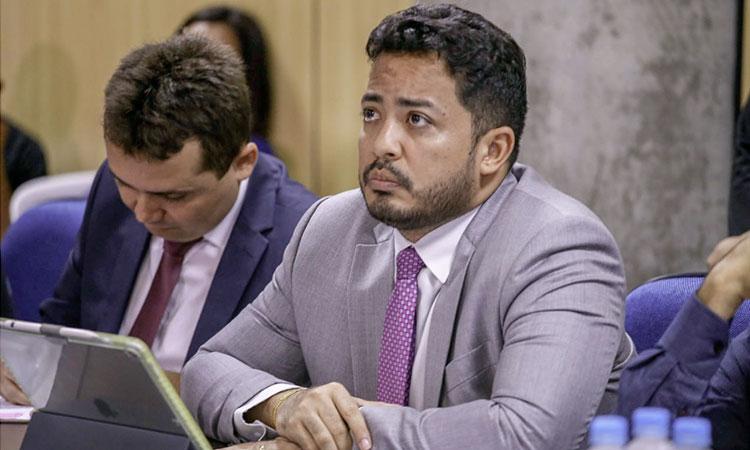 Secretário de Justiça, Carlos Edilson. Foto: Roberta Aline