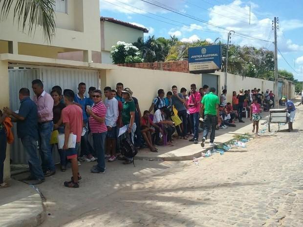 Cartório Eleitoral em São Raimundo Nonato (Imagem: reprodução)
