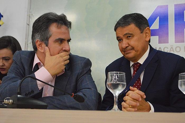 Ciro Nogueira (Progressistas) e Wellington Dias (PT) - Imagem: reprodução
