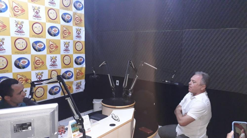 Rádio Cultura FM - Entrevista de Gercílio Magalhães concedida para Beto Macêdo.