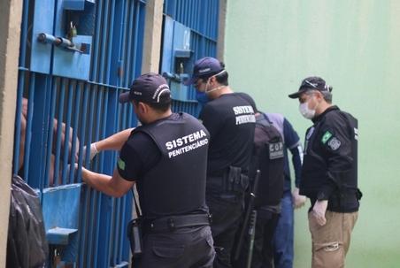 Secretaria de Justiça deflagra operação Pignus em presídios no Piauí