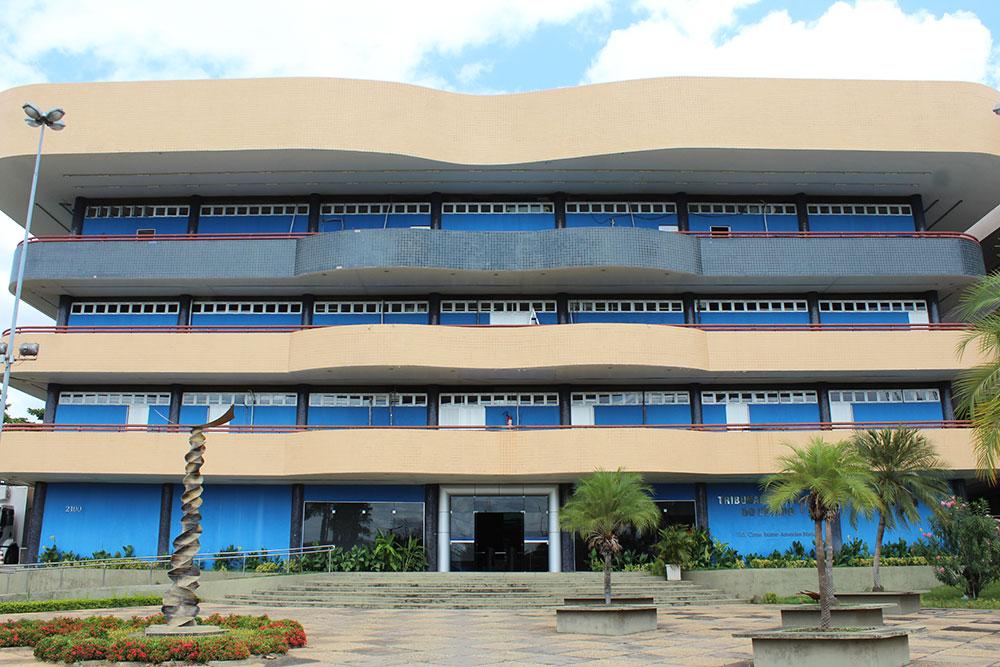Sede do TCE (Foto: Wilson Nanaia/Portal AZ)