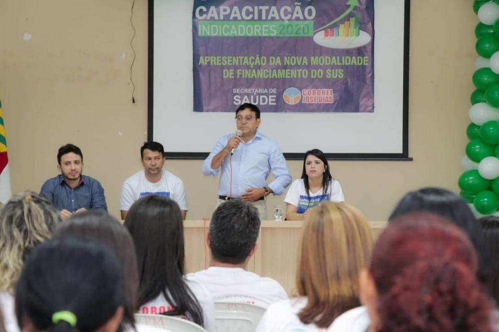 Prefeitura de Coronel José Dias realiza Capacitação Indicadores 2020.