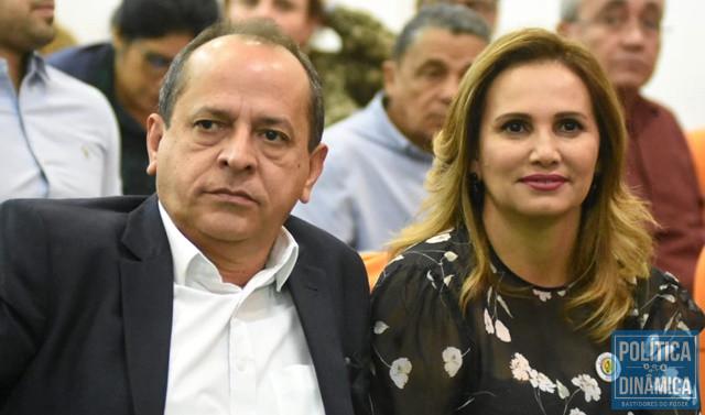 Hélio Isaías e Carmelita são réus em processo (Foto: Jailson Soares/PoliticaDinamica.com)