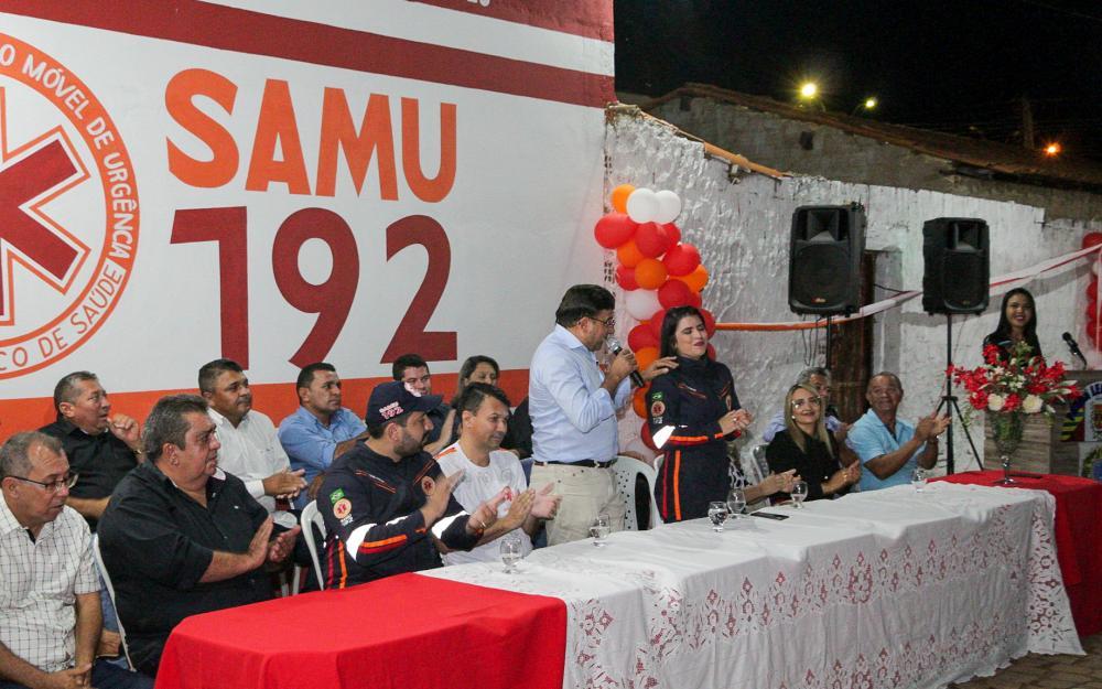 Prefeito Maninho inaugura base do SAMU em Coronel José Dias