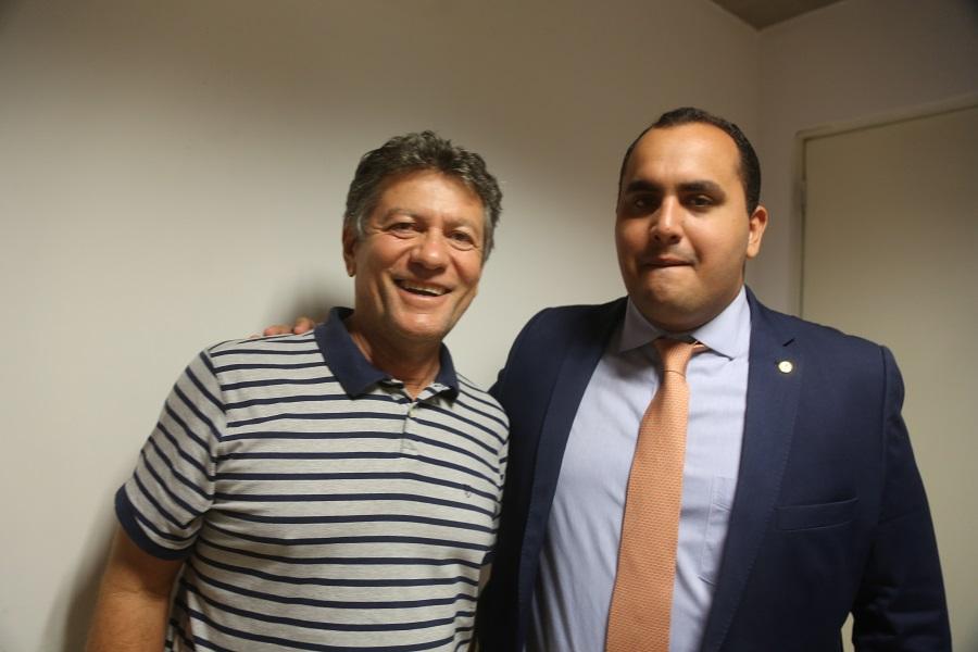 Avelar Ferreira e Georgiano Neto (Imagem: Efrém Ribeiro)