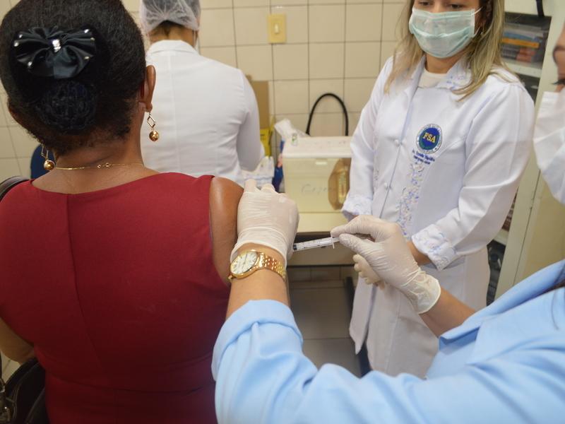 Campanha Nacional de Vacinação contra gripe começa hoje (Foto: PMT divulgação)