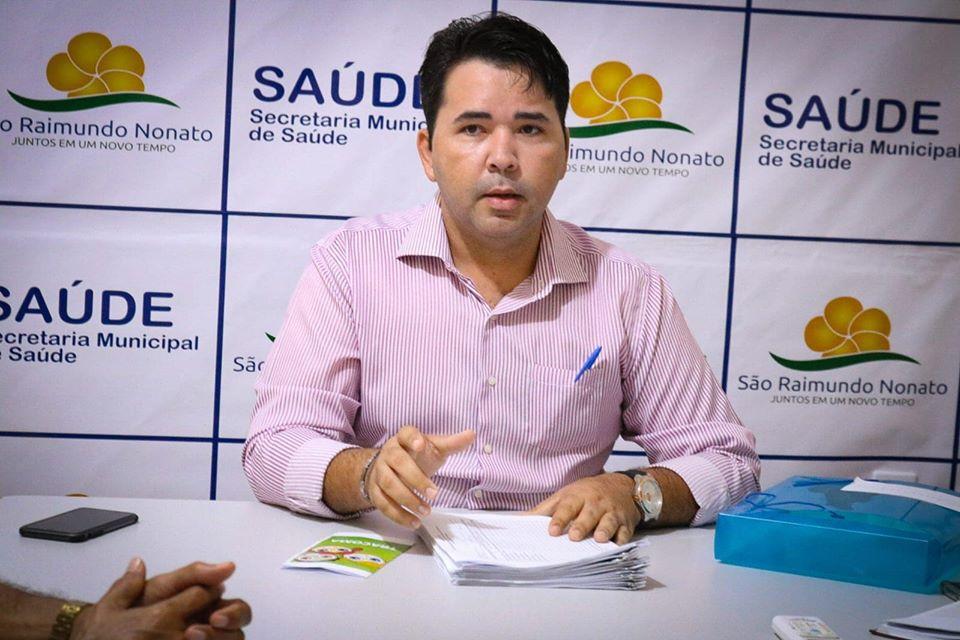 Secretário de Saúde Jussival Júnior (Imagem: Facebook)