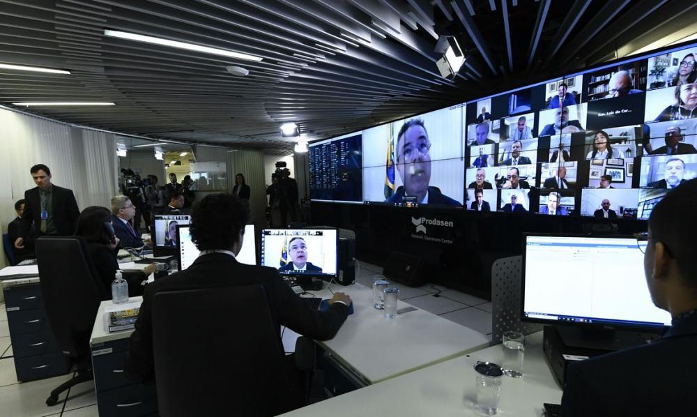 Senado vota hoje auxílio de R$ 600 para autônomos e informais (Foto: Jane de Araújo/Agência Senado)