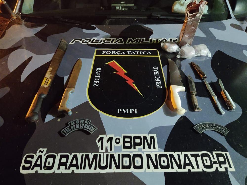PM prende suspeito de arrombar lojas em São Raimundo Nonato