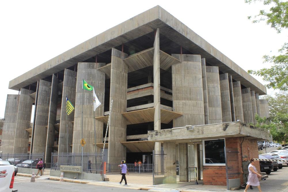 Sede do Tribunal de Justiça do Piauí (Foto: Wilson Nanaia/Portal AZ)