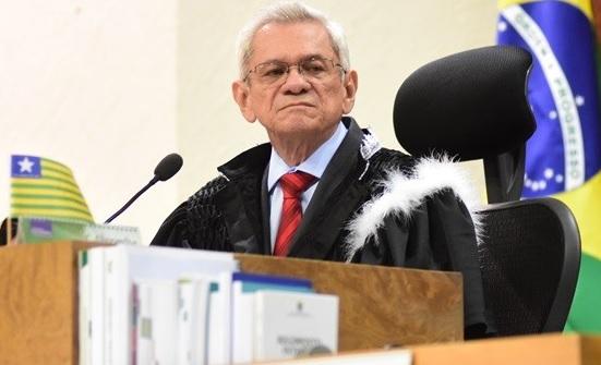 Presidente do TRE-PI, Francisco Paes Landim (Foto: Jailson Soares)