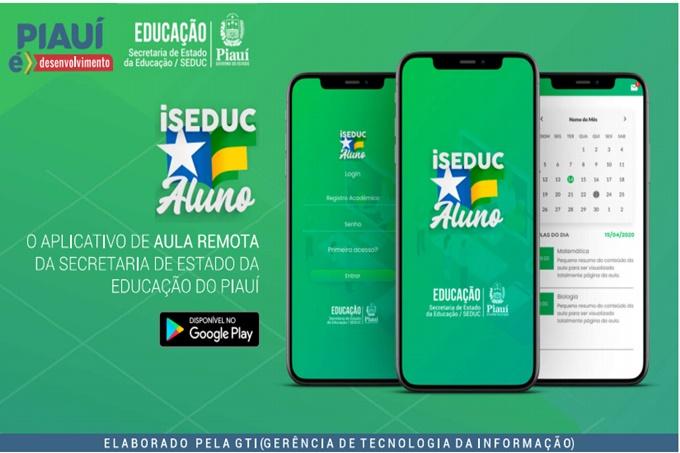 Secretaria de Educação lança aplicativo para ampliar acesso a aulas remotas