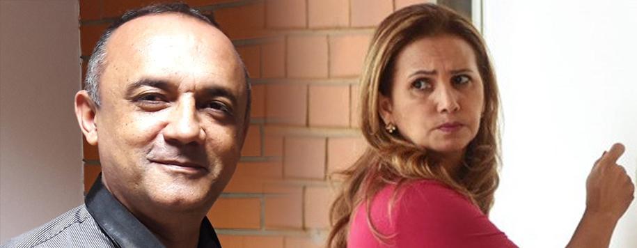 Ameaçada de perder mandato, prefeita de São Raimundo Nonato briga com presidente da Câmara dos Vereadores