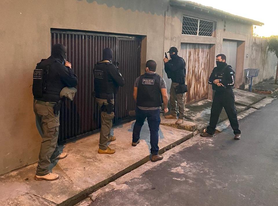 Polícia Civil deflagra operação e prende 4 pessoas em Teresina