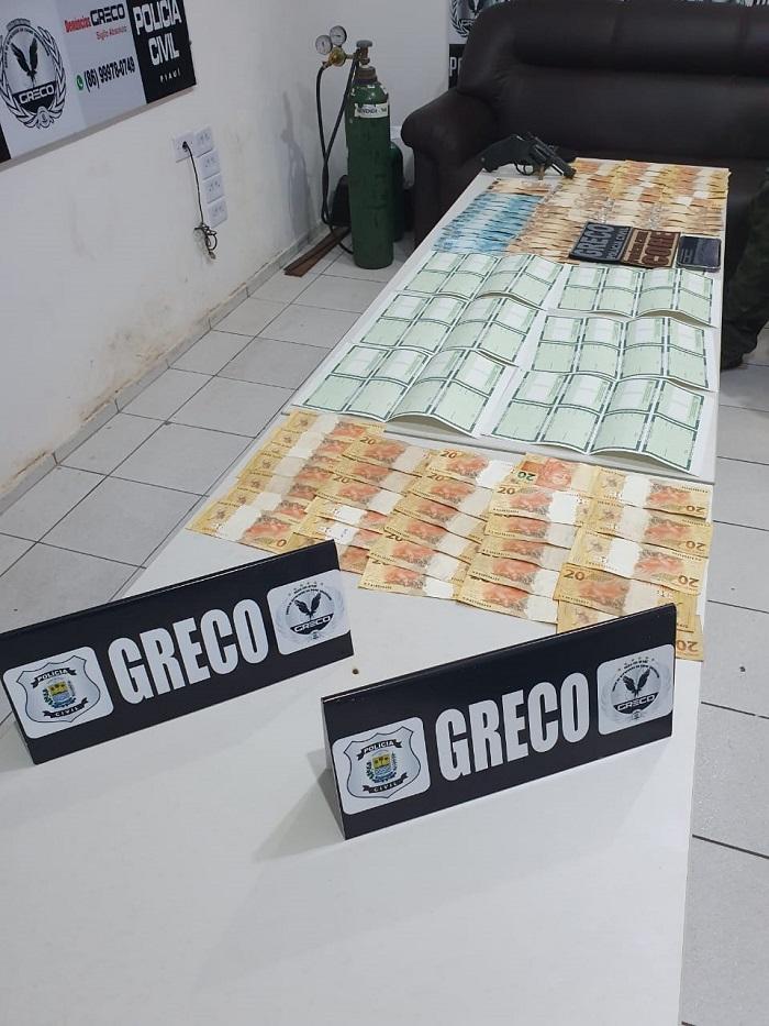Homem é preso por desviar cédulas do Instituto de Identificação do Piauí