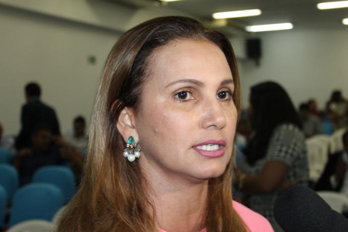 Prefeita Casrmelita Castro (Imagem: reprodução)