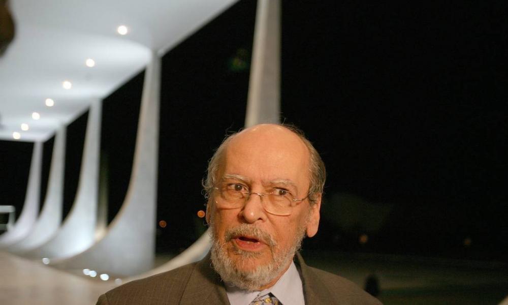 Sepúlveda Pertence, quando era ministro do STF, em 2007 Foto: Roberto Stuckert Filho / Agência O Globo