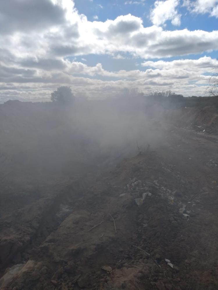 População do município de São Lourenço do Piauí sofre com fumaça de lixão