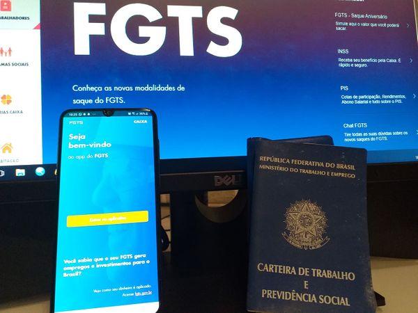 Saque emergencial de R$ 1.045 do FGTS só começa dia 25 de julho