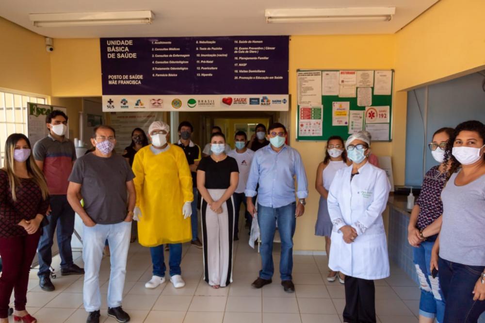 Prefeito Maninho implanta programa de testagem para covid-19