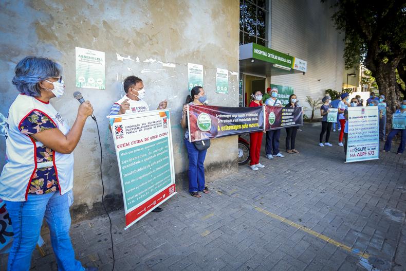 Greve na saúde começa nesta quinta com protesto em frente ao HGV