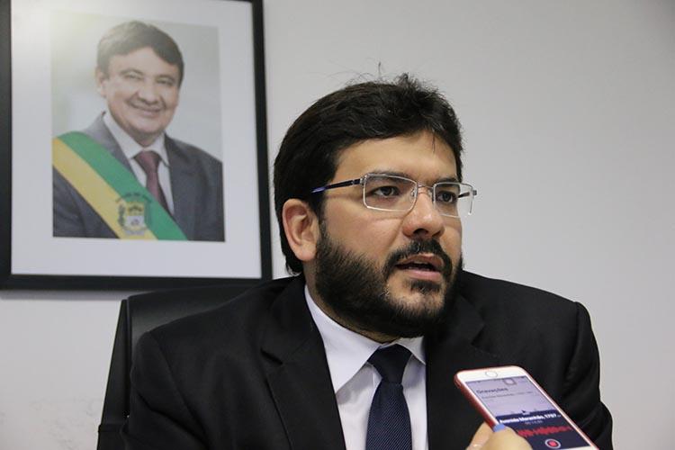 Secretário Estadual de Fazenda, Rafael Fonteles (Imagem: reprodução)