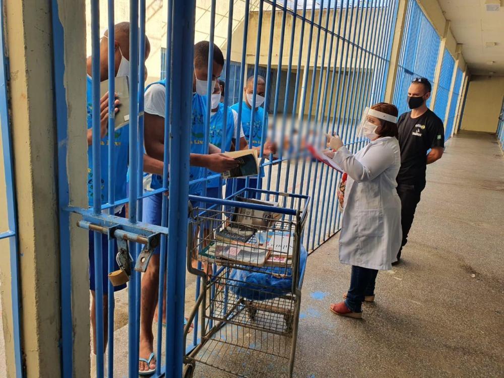 Projeto Leitura Livre transforma a realidade dos internos na Casa de Detenção de São Raimundo Nonato