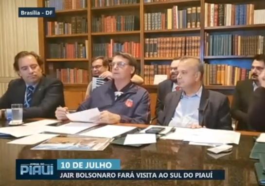Presidente Jair Bolsonaro fará visita ao sul do Piauí em julho
