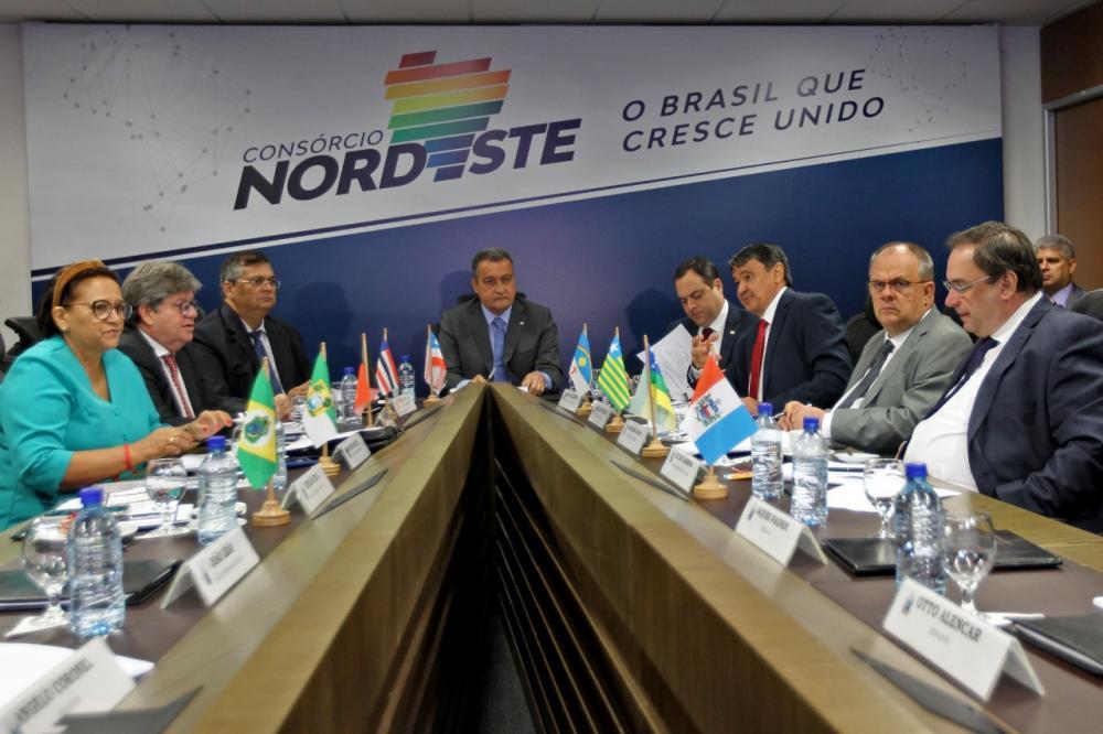 Reunião dos governadores do Nordeste (Foto: Divulgação/Secom Bahia)