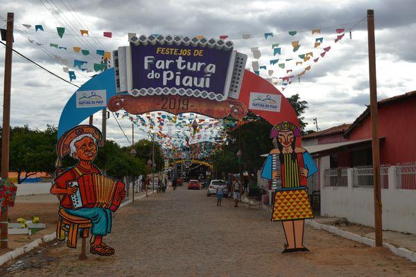 Município de Fartura do Piauí (Imagem: www.estadopiaui.com)