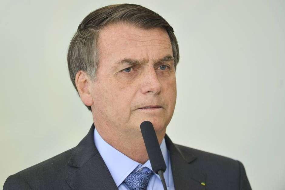 O presidente Jair Bolsonaro Foto: Marcelo Camargo/Agência Brasil / Estadão Conteúdo