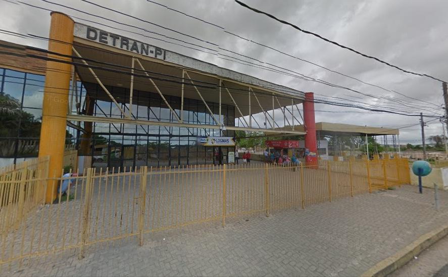 Sede do Detran-PI (Foto: Google/Maps)