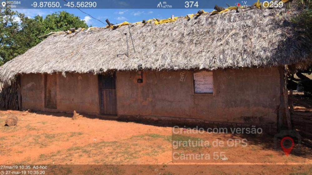 Situação de uma das escolas vistoriadas pelo TCE/PI no município de Barreiras do Piauí
