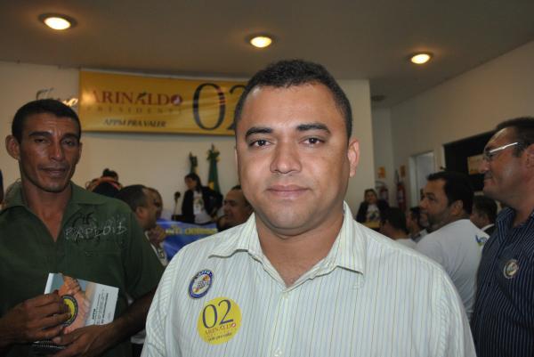 Ex-prefeito Perivaldo Campos Braga,