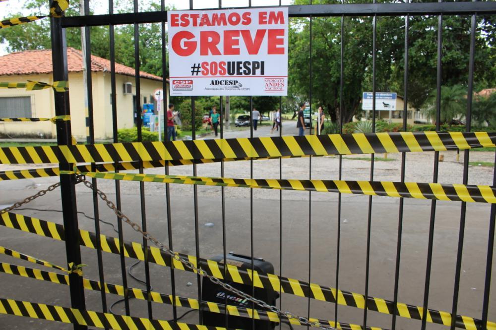 Uespi poderá ter nova greve ainda em 2019 (Foto: Lorena Passos/OitoMeia)