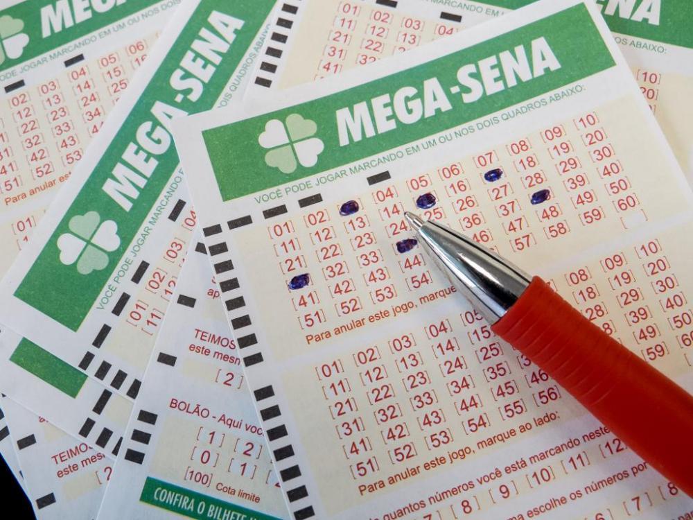 Mega-Sena acumula e sorteia R$ 21,5 milhões nesta quarta-feira