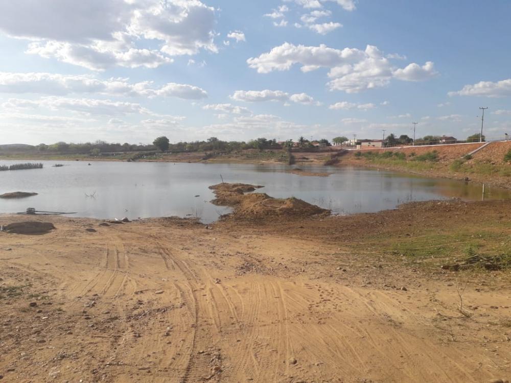 Açude no Município de Bonfim do Piauí (Imagem: Portal SRN)