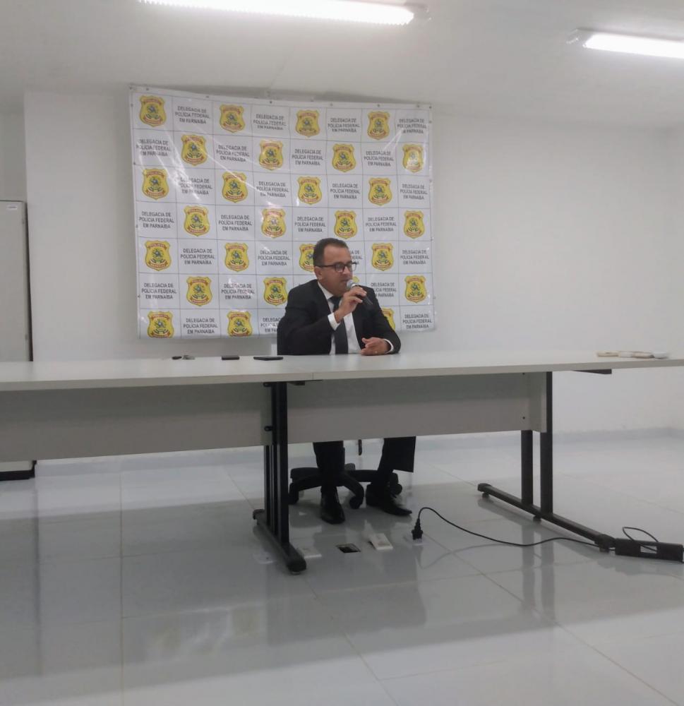 Delegado da Polícia Federal Carlos Alberto Nascimento( Foto: ascom PF)