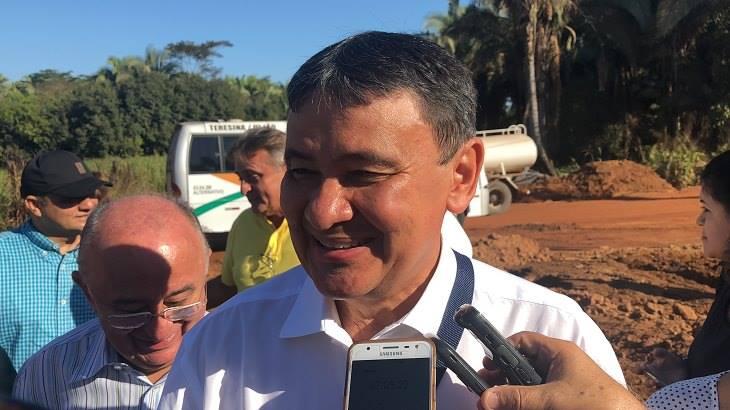 Governador Wellington Dias( Foto:Lucas Sousa/Portal AZ)