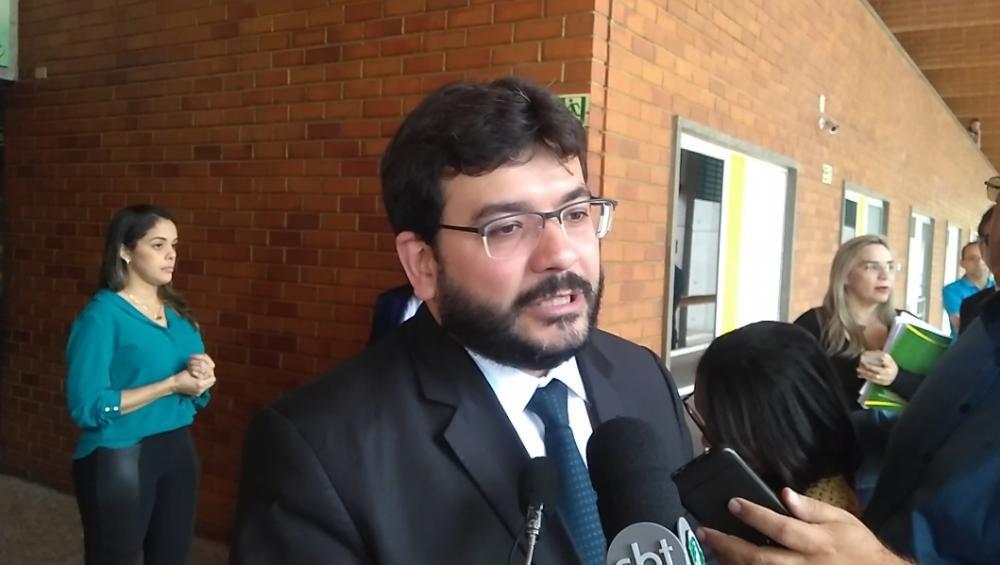 O secretário de Fazenda piauiense, Rafael Fonteles (Foto: Wanderson Camêlo/Portal AZ)