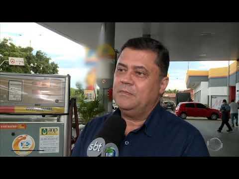 Preço da gasolina baixou em alguns postos da capital