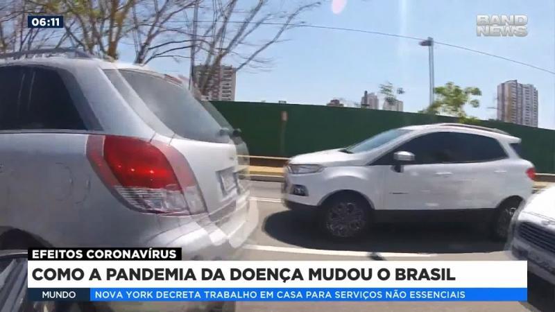 Como a pandemia da doença mudou o Brasil
