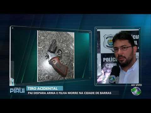 Pai dispara arma e filha morre na cidade de Barras-PI