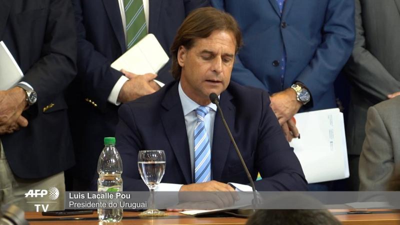 Uruguai e Venezuela em emergência