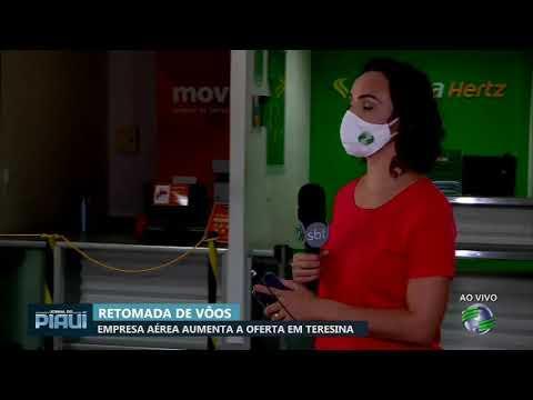 Empresa aérea aumenta a oferta de vôos em Teresina