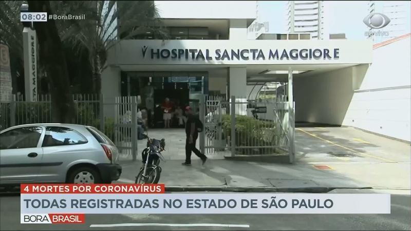 Sobe para quatro o número de mortes por coronavírus em São Paulo