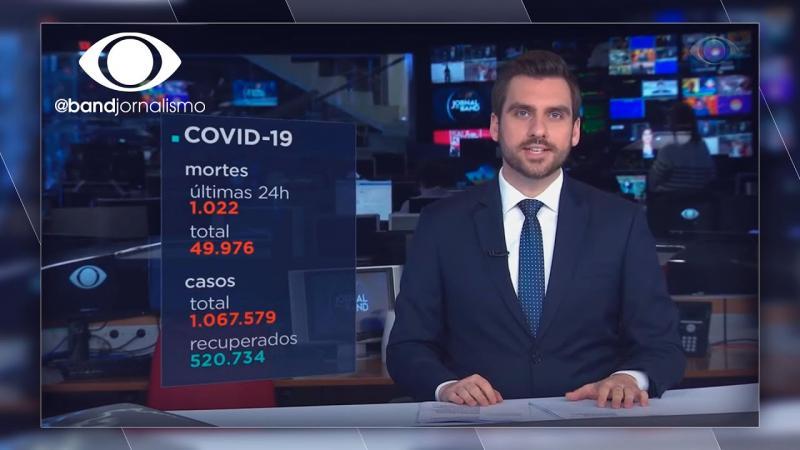 Coronavírus: Brasil registra 1.022 mortes em 24 horas